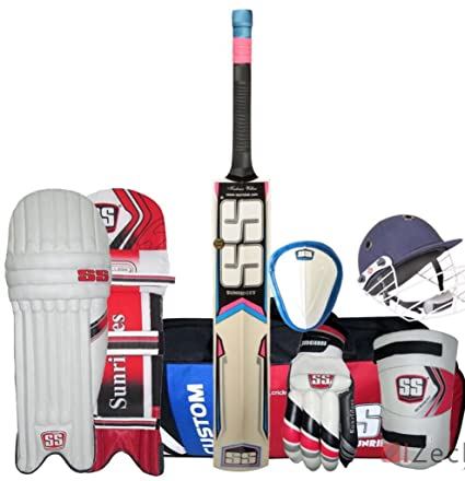 c2cd346ab Image Unavailable. Image not available for. Colour  SS 7PCS Cricket Kit ...