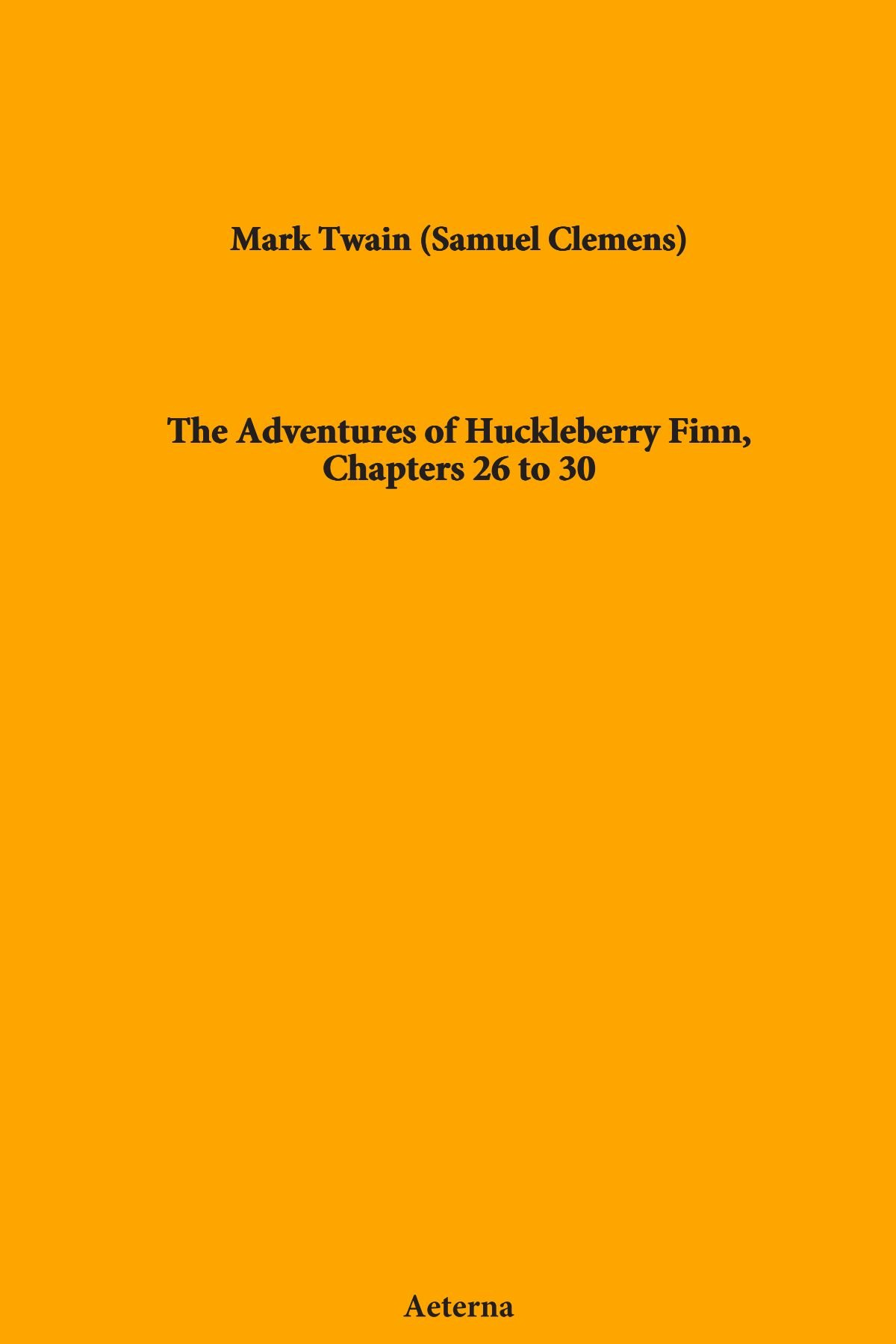 Download The Adventures of Huckleberry Finn, Chapters 26 to 30 pdf