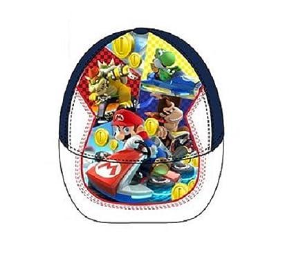 Gorra de Super Mario Bross talla 54: Amazon.es: Ropa y accesorios