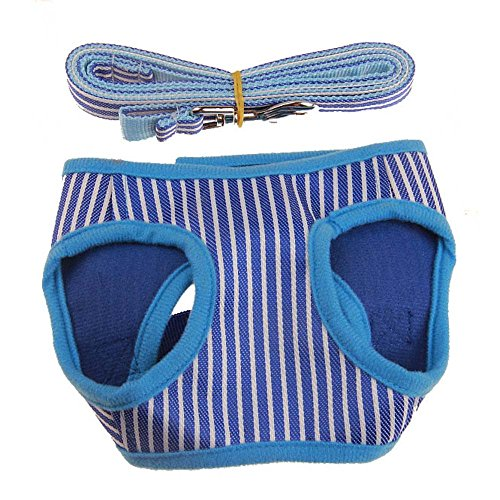 Hpapadks Dog Square Vertical Vest-Type Traction Rope Set,2018 Fashion Pet Dog Walk Out Vest Traction Rope(Blue, Purple, Pink)