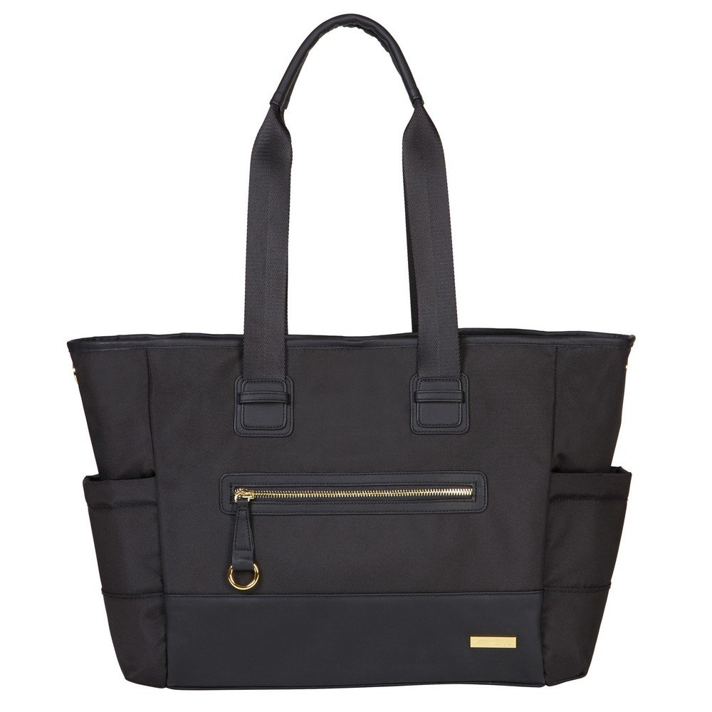 Skip Hop Chelsea 2-In-1 Downtown Chic Changing Tote Bag (Black) 200456