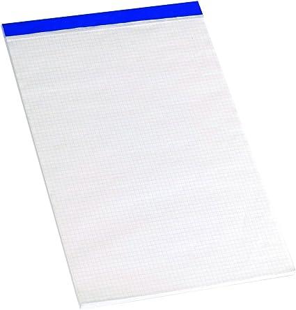Enri 400032070 - Pack de 5 blocs de notas grapados sin tapa, A4 ...