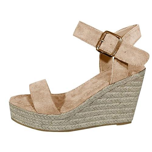 67716a01d Nouvelle Mode d'été Femmes Grande Taille Sandales Bride à la ...
