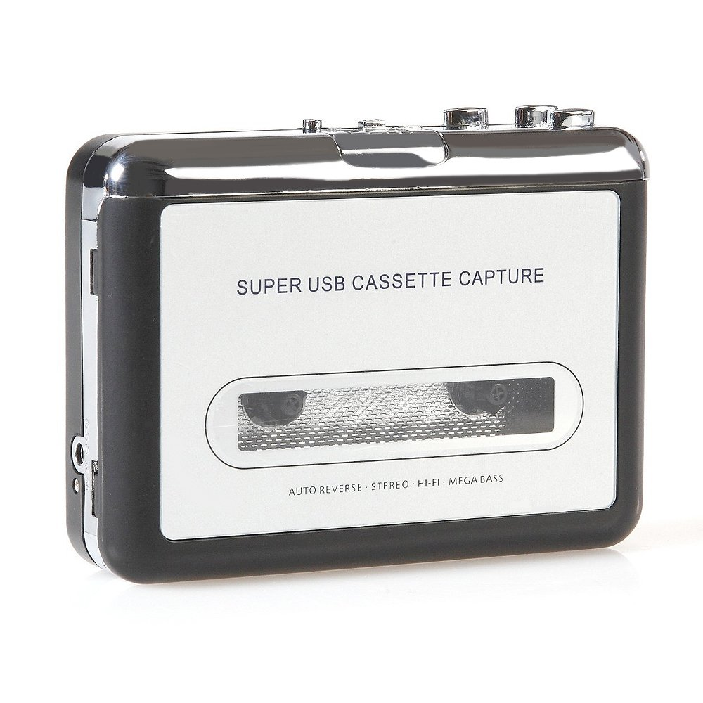 Handy USB Cassette Player and Tape-to-MP3 Digital Converter Lantomall HNH_1002438