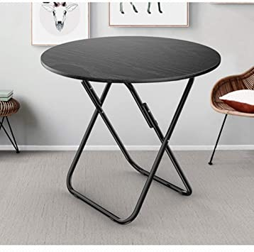 Bistro mesa redonda plegable Tabla 70 × 70 × 70cm portátil Café ...