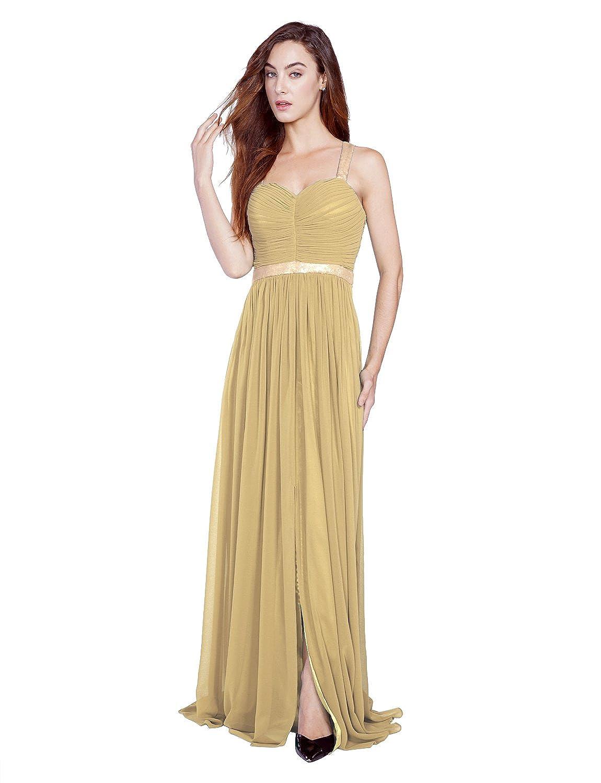 Ssyiz Chiffon Off Shoulder Sequins Ruched Bust Backless Design Long Evening Dress Prom Gowns (Provide Size,Custom Made Dresses) (Custom, ...