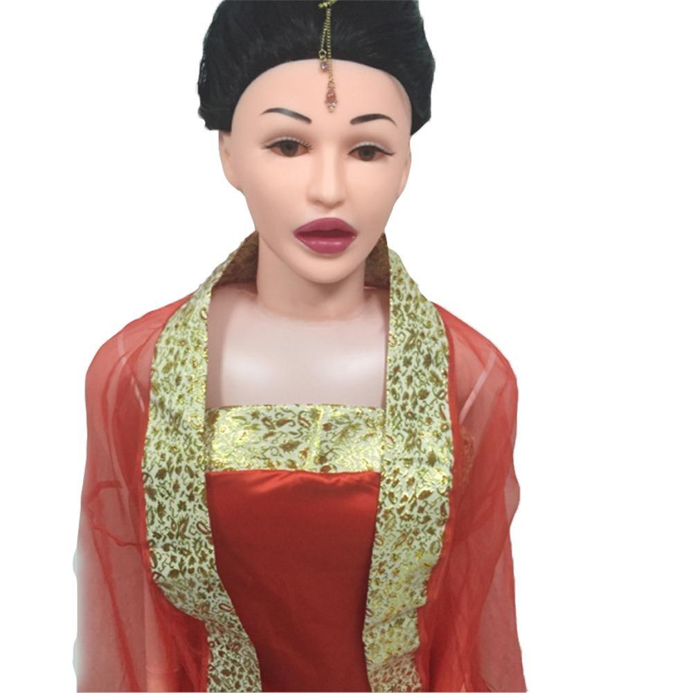 ZHIYUAN PVC / / / 158cm de simulación física de alta imitación semisólido sonido muñeca hinchable (Nota: Los accesorios de ropa pelo no son incluidos) 42e554