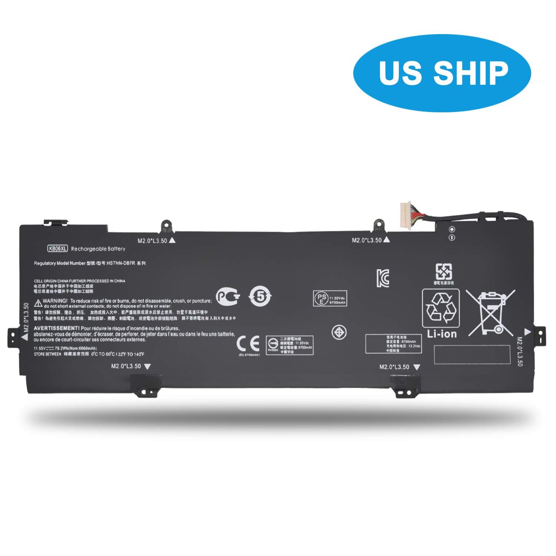 Emaks KB06XL Battery for HP Spectre X360 15-bl000 15t-bl000:15-bl075nr 15-bl012dx 15-bl152nr 15t-bl100 2PG91EA Z6L02EA Z6L01EA Z6L00EA Z6K99EA Z6K97EA Z6K96EA 902401-2C1 902499-855 HSTNN-DB7R TPN-Q179