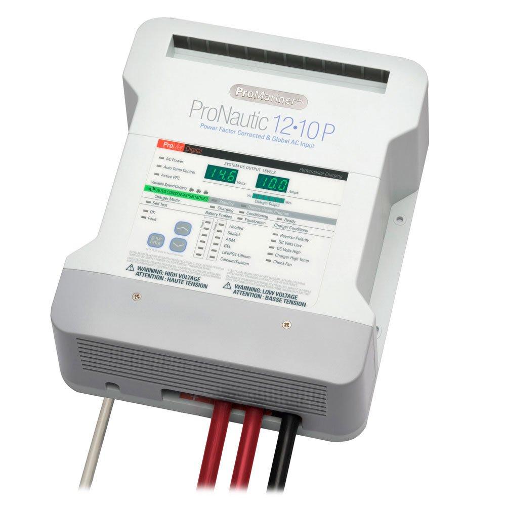 PROMARINER PRONAUTIC 1210P 10 AMP 2 BANK BATTERY CHARGER