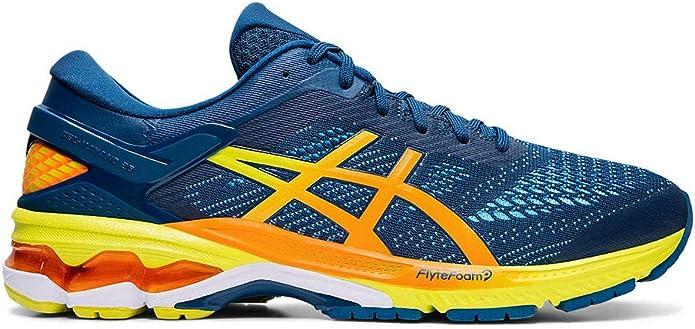 ASICS Gel-Kayano 26 Sneakers Herren Blau/Gelb/Orange