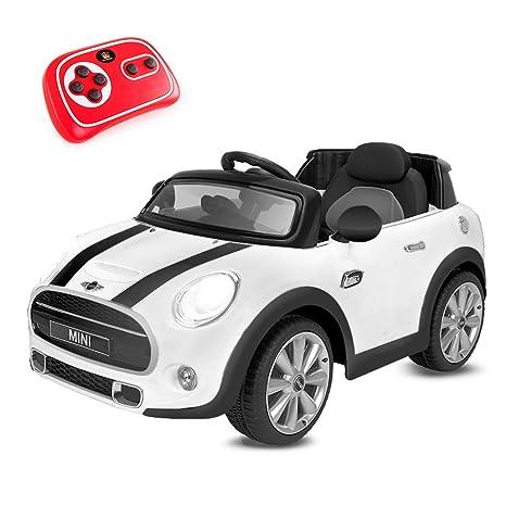 Playkin Coche Electrico Niños Mini Hatch, Color Blanco: Amazon.es: Juguetes y juegos