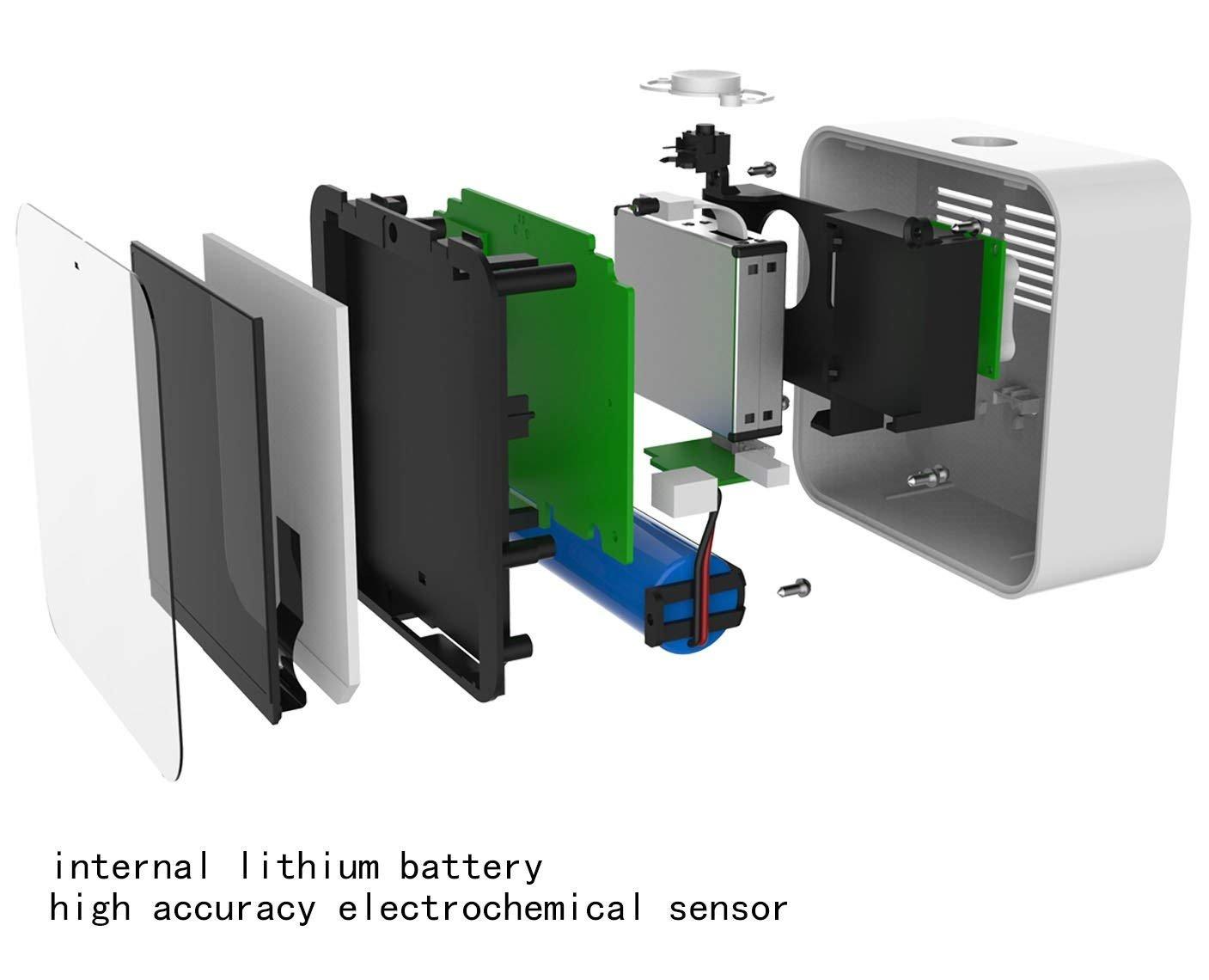 Werkzeuge Messung Und Analyse Instrumente 100% QualitäT Air Qualität Tester Tragbare Laser Pm2.5 Detektor Smart Monitor Für Home Office Auto