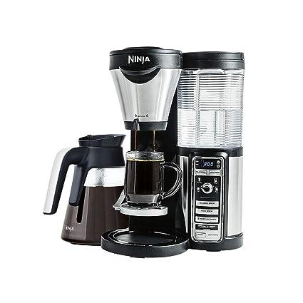 Amazon.com: Ninja CF081 Hot and Iced Coffee Bar with Glass ...