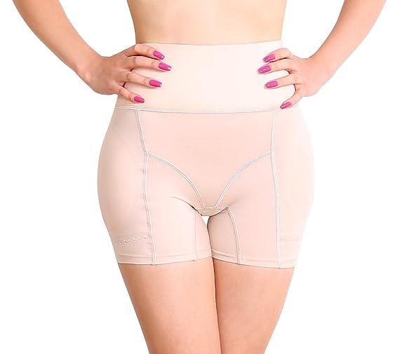 Sodacoda Damen Warme Bauch-Weg Effekt Mieder Hose - inkl entnehmbare Dicke Push-Up Polster für Knack-Po und runde Hüften