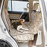 Pet Seat Cover KINGSWELL Waterproof Dog Hammock for Cars (Camo Desert)