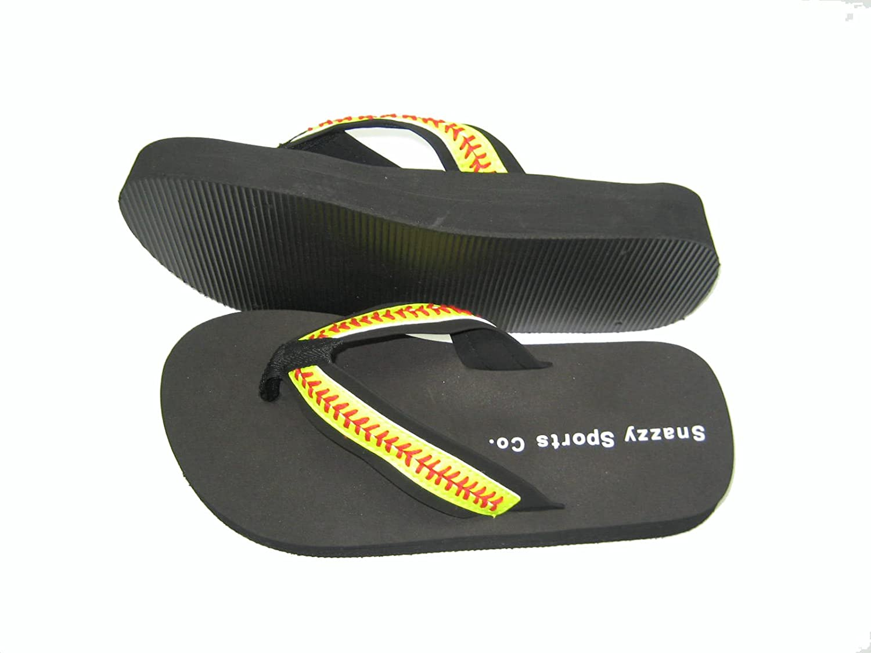 Softball Seam Flip Flops Large (9-10)