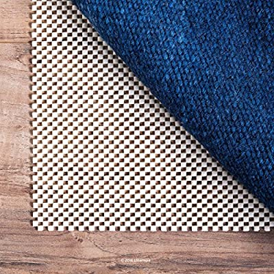 LINENSPA Ultra Grip Non Slip Rug Pad - Extra Thick Area Rug Gripper for Any Floor Surface