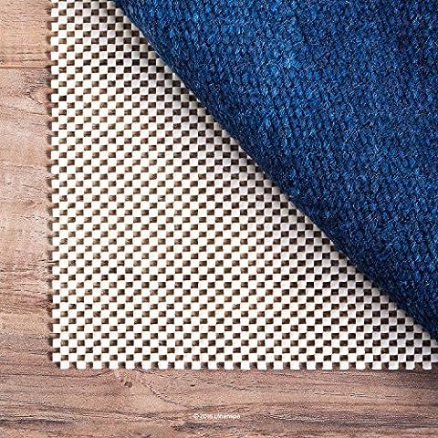 LINENSPA Ultra Grip Non Slip Rug Pad - Heavy Duty Area Rug Gripper for Any Floor Surface - 5 x 8 (Carpet 8x5)