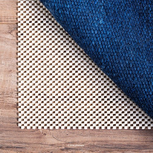 LINENSPA Ultra Grip Non Slip Rug Pad - Heavy Duty Area Rug Gripper for Any Floor Surface - 5 x 8 (Anti Skid Foam Pad)