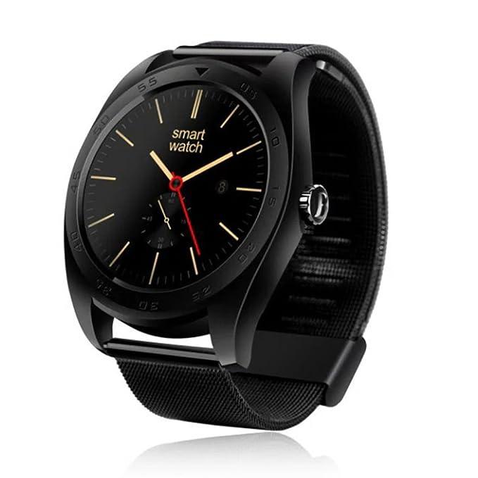 Amazon.com: MOREFINE Man Smartwatch Activity Tracker 1.2 ...