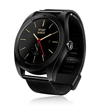 MOREFINE Bluetooth Reloj Inteligente Fitness Smartwatch ...