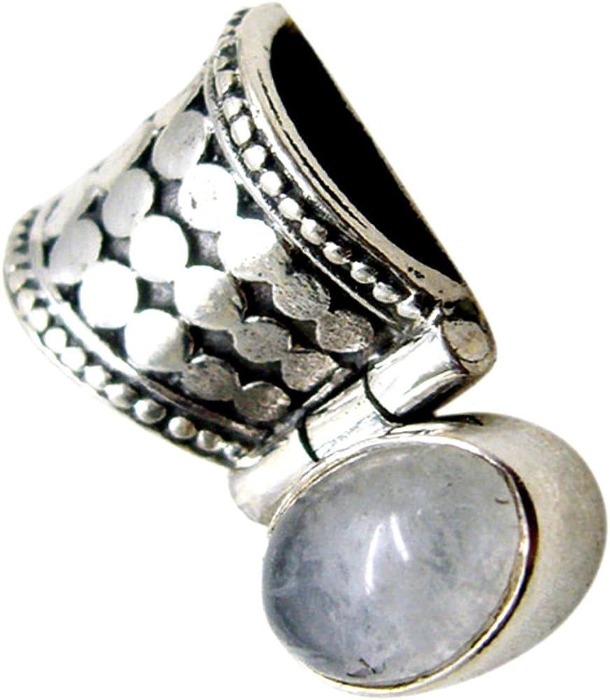 /juin Pierre de naissance Pendentif chakra Gu/érison Collier ovale Naturel Pierre de Lune Argent Charms pour femme/