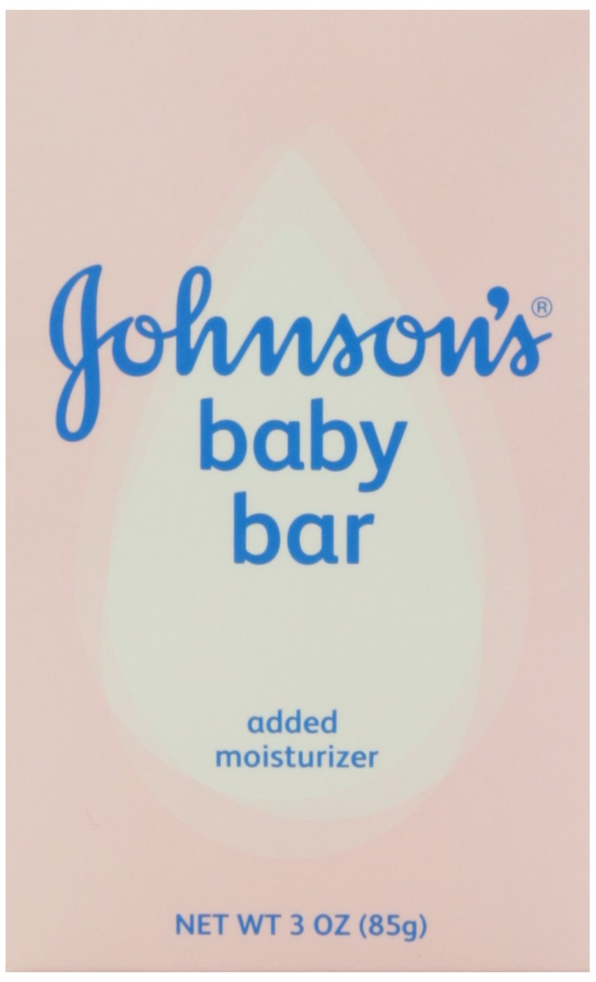 Johnson's Baby Bath Bar Soap, 3 oz. Johnson' s 474500