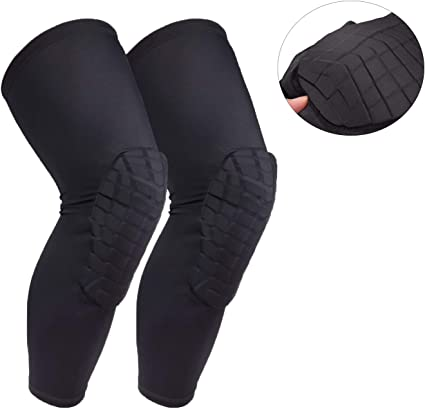 Compression Knee Brace Anti-slip Knee Supportive Sleeves for Basketball Football
