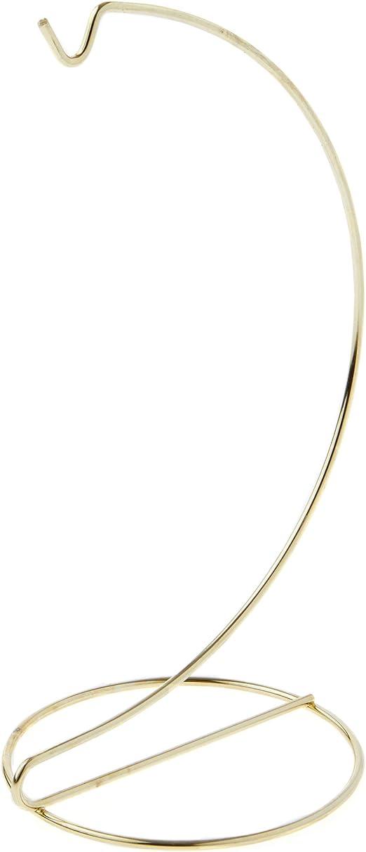 "Gold Darice Metal Ornament Stand 9/"""