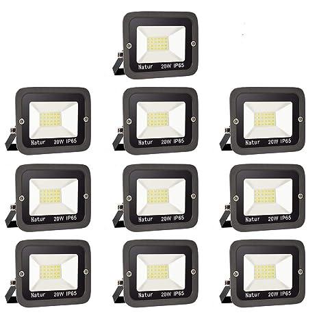 20W LED Foco exterior alto brillo Proyector led exterior de ...
