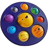 Oito planetas Simples Dimple Popit Sensory Toy Alívio, Stress Relief Squeeze Push Bubble Brinquedo educacional para crianças