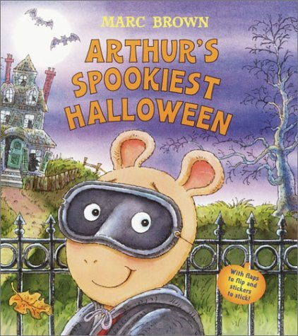 Arthur's Spookiest Halloween (Nifty Lift-and-Look) by Marc Brown (2003-08-26)