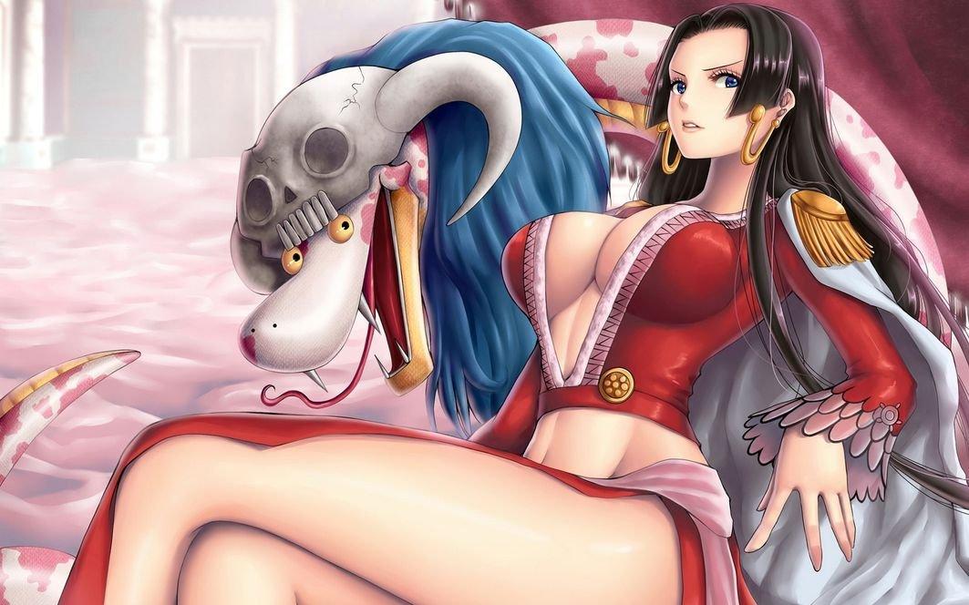 Amazoncom Xxw Artwork One Piece Boa Hancock Poster Nine