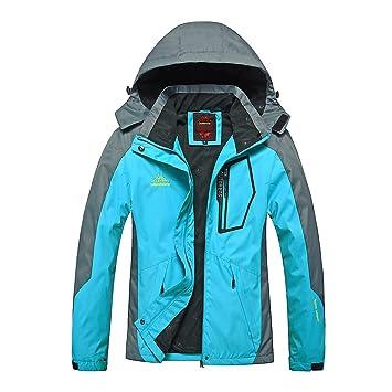 a9749372169 gitvienar Outdoor Sport Mujer Chaquetas con capucha Montañismo Ropa  impermeable fina verkleidung Wind Chaqueta Ropa para