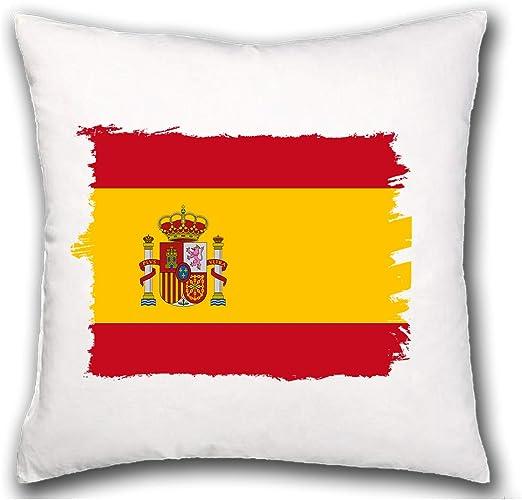 MERCHANDMANIA COJIN Bandera ESPAÑA Pais Unido hogar Comodo cussion: Amazon.es: Ropa y accesorios