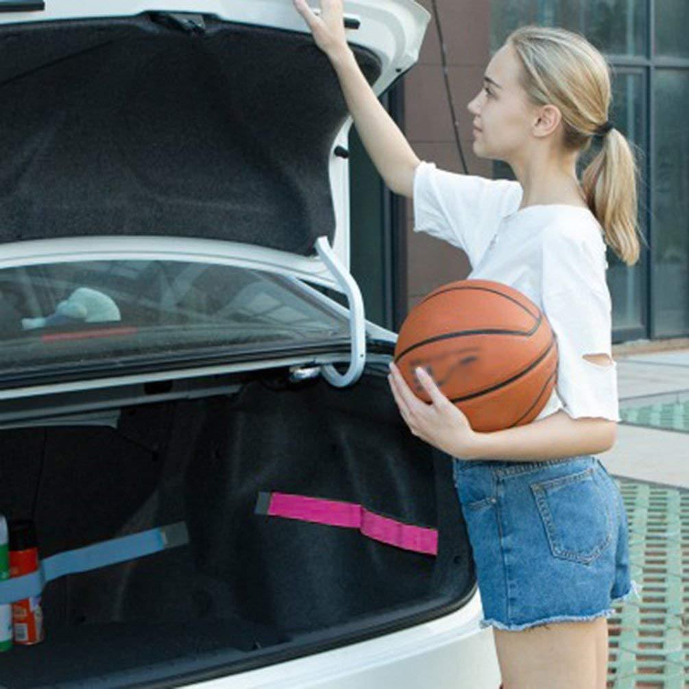 TAOHOU Car Organizer Elastico Car-Styling Color Strap Fisso Car Interior Accessori Nero