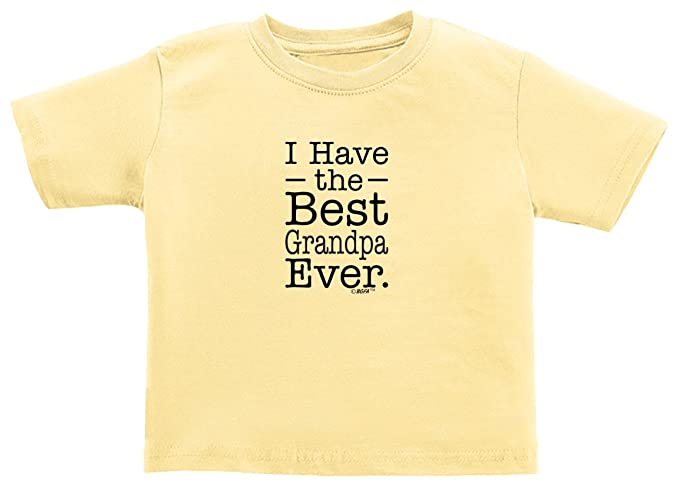 b81cab29d Baby Gifts For All I Have the Best Grandpa Ever Cute Baby Toddler Juvy T-