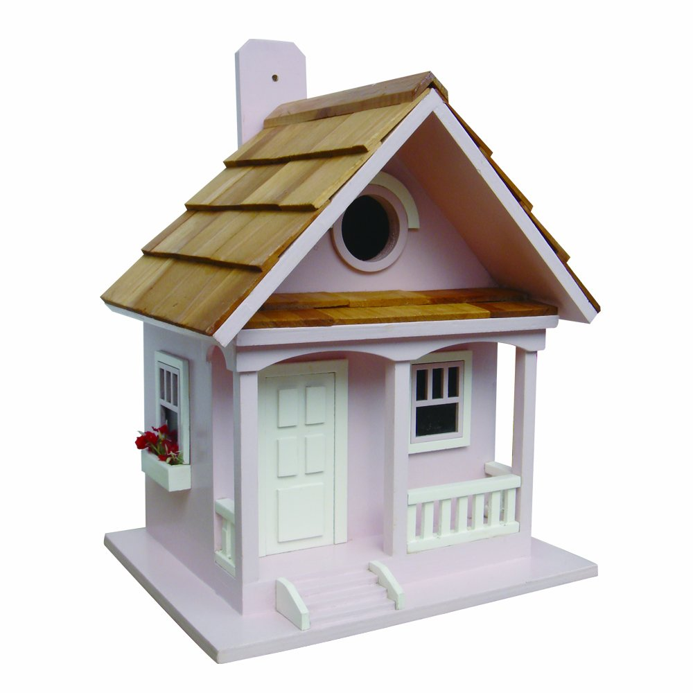 Home Bazaar Cotton Candy Cottage Birdhouse-Cotton Candy Home Bazaar Inc. HBB-1004S