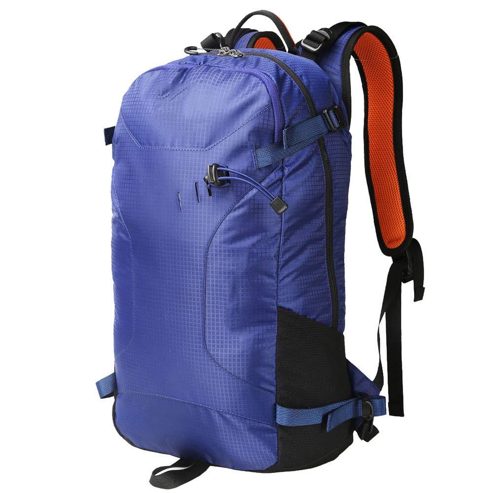 アウトドア登山バッグバックパック女性男性25Lコンピュータバッグ学生バッグハイキング青43 * 16 * 21CM   B07KN59ZBH