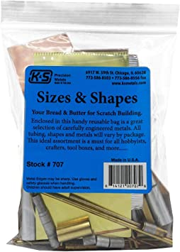 Brass Copper And Aluminium Tubing And Sheet Assorted Shapes K S
