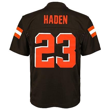 best service 0bc23 4bad4 Amazon.com : Outerstuff Joe Haden NFL Cleveland Browns Mid ...