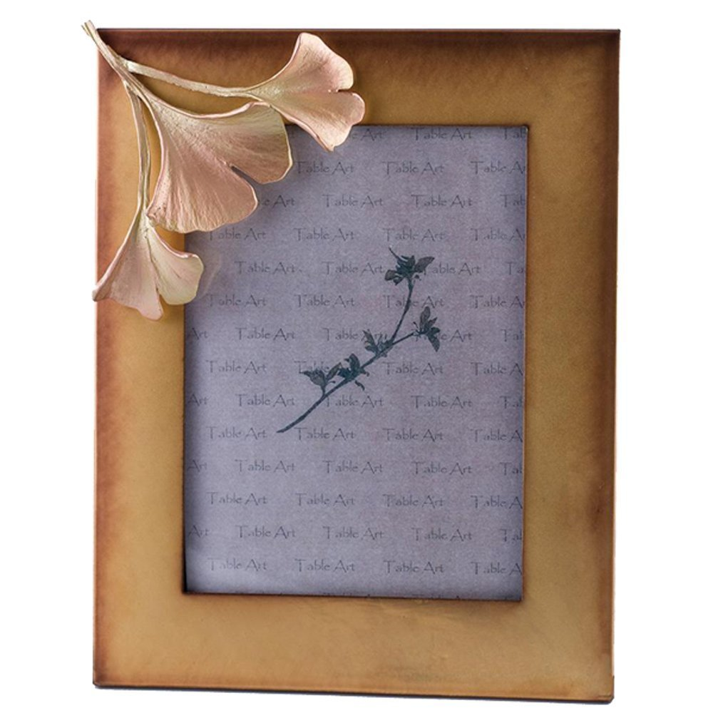 Gingko 4x6 Frame by Michael Michaud for Silver Seasons Table Art Four Seasons Design Group