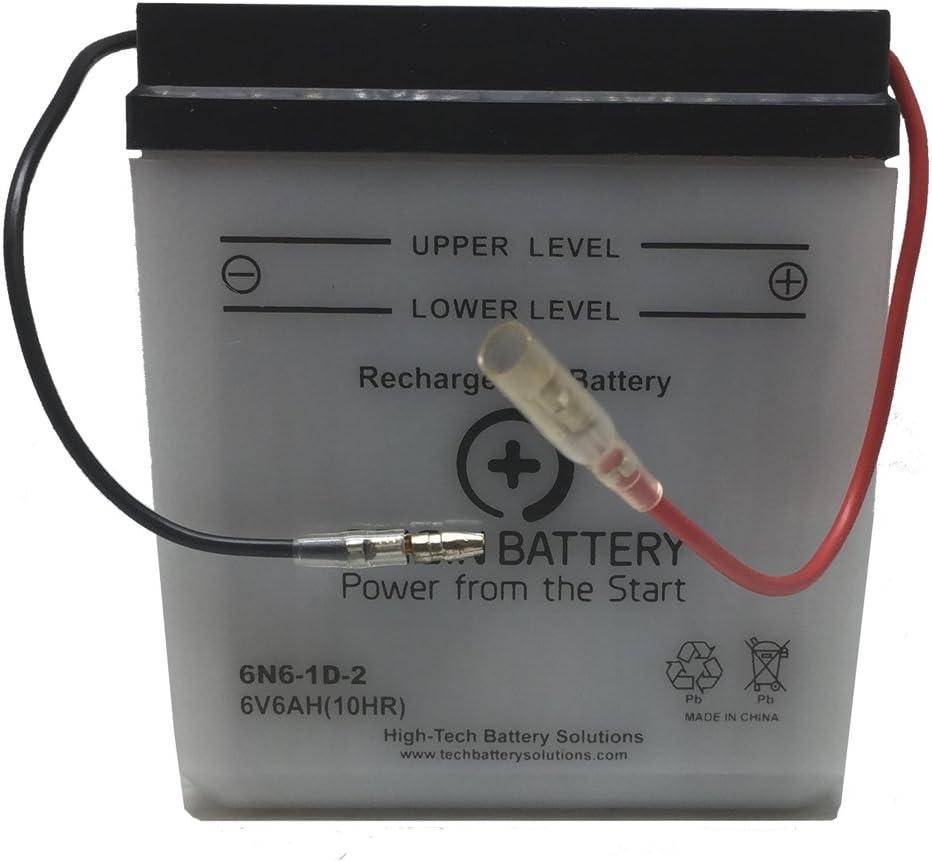 Kawasaki KE100-B Battery Replacement (1982-2001)