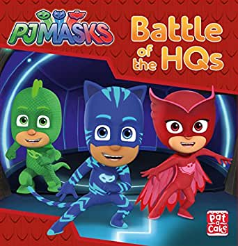 Battle of the HQs: A PJ Masks story book (English Edition ...