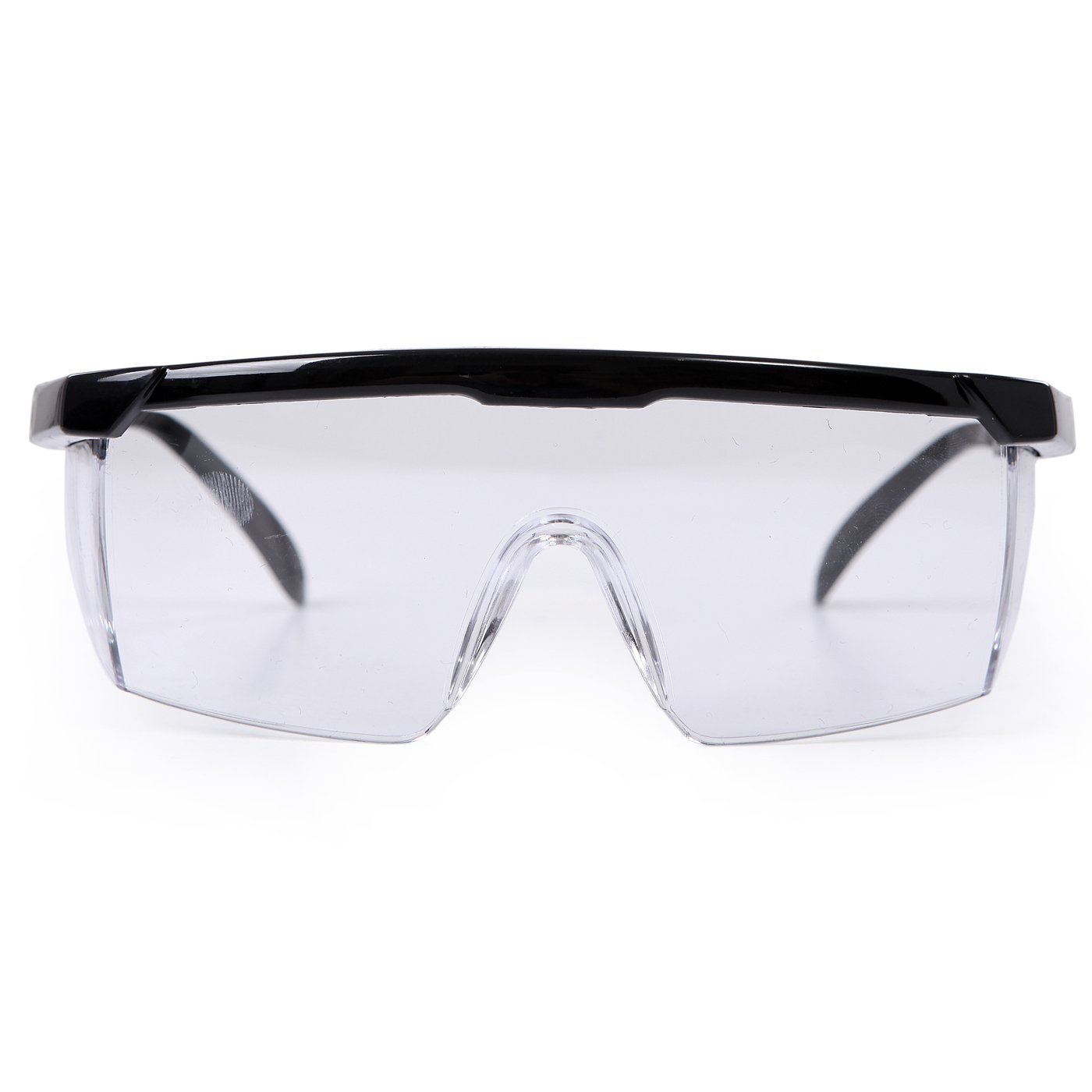 hde safety glasses clear lens protective eyewear for general work