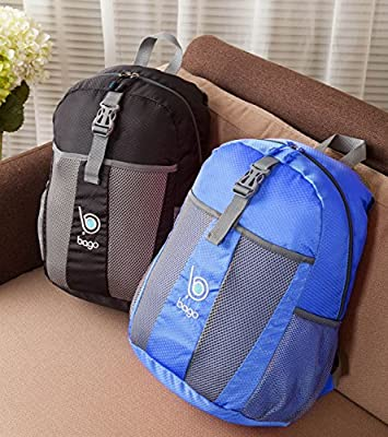 Bago Lightweight Foldable Backpack - Collapsible Daypack Is Packable & Fits All