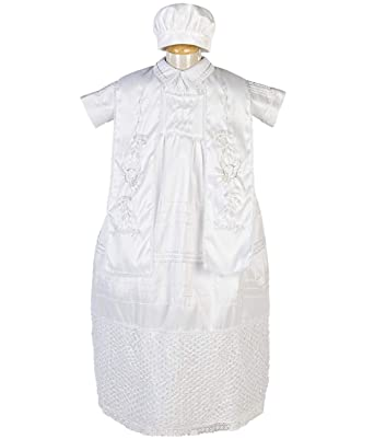 Amazon.com: Boys Baptism/Christening Gown, Traje De Bautizo ...