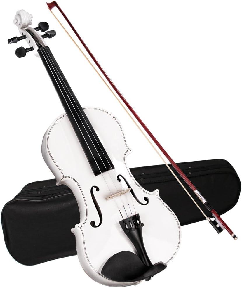 Jago - Violín clásico 4 4 de madera, con funda y arco, color a elegir: Amazon.es: Instrumentos musicales