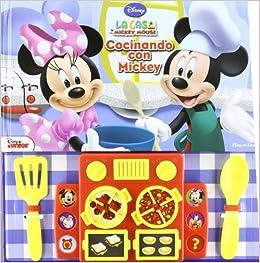 La Casa Mickey Mouse Concinando Con Mickey - Disney Junior España (La Casa Mickey Mouse): Varios Autores: 9781450814874: Amazon.com: Books