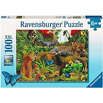 Ravensburger Wild Jungle - 100 Piece Puzzle